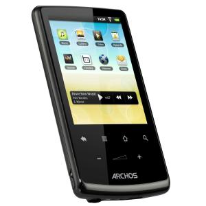 MP3-player & MP4 4GB Archos 28 Internet Tablet - Schwarz