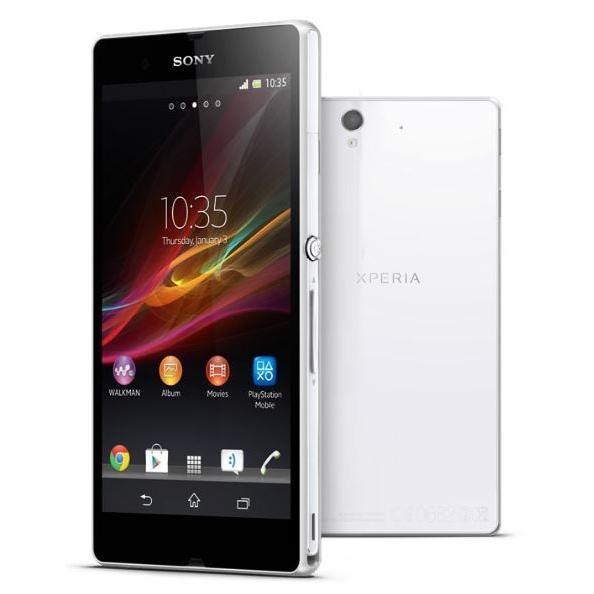 Sony Xperia Z 1 16 Go - Blanc - Orange
