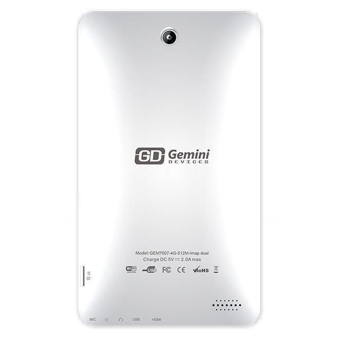 "Gemini  D7 - 7"" 4 Go - Wifi - Blanc"