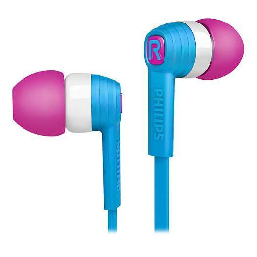 Ecouteurs intra auriculaires Philips Citiscape SHE7050BL/00