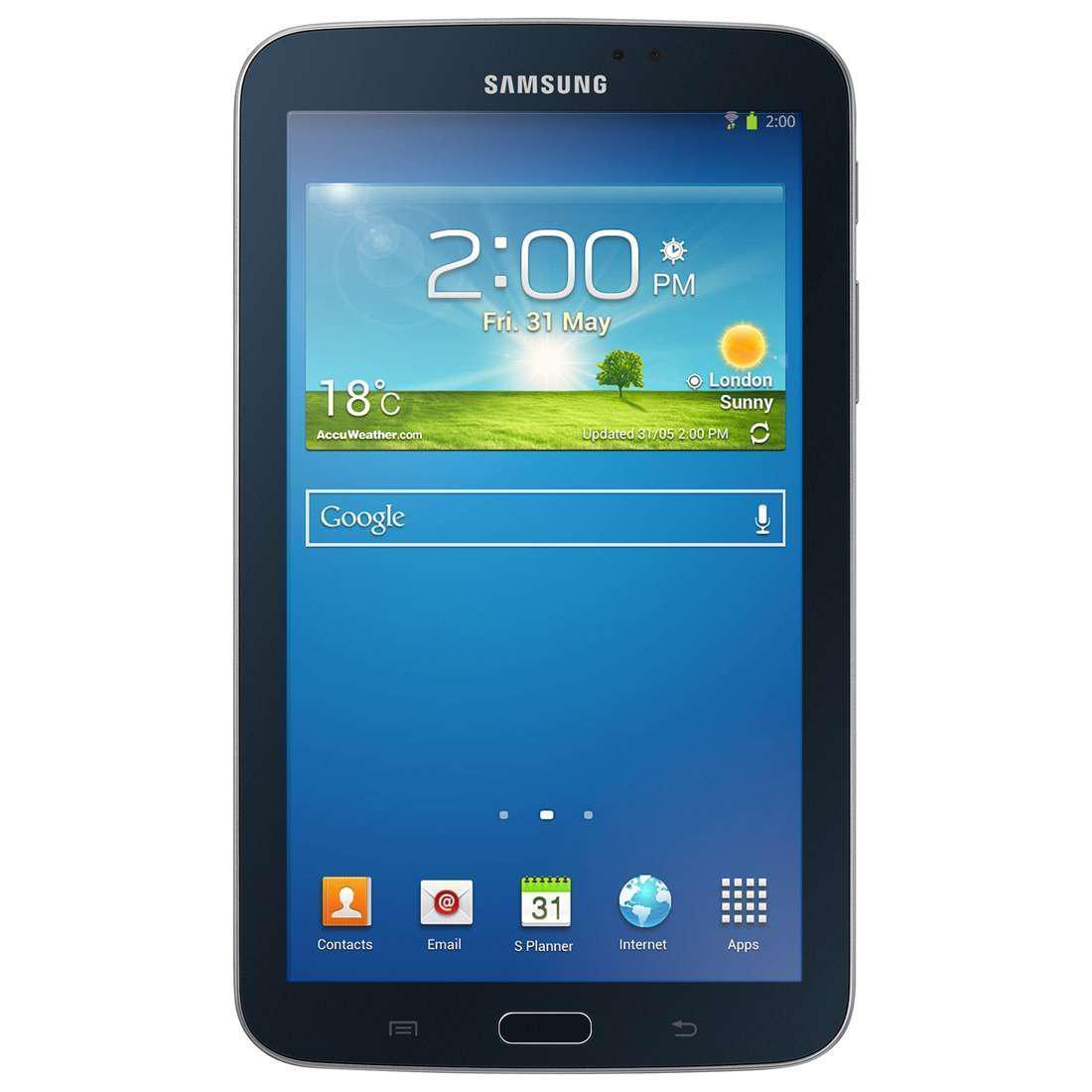 """Samsung Galaxy Tab 3 - 7"""" 8 Go - Wifi - Noir"""