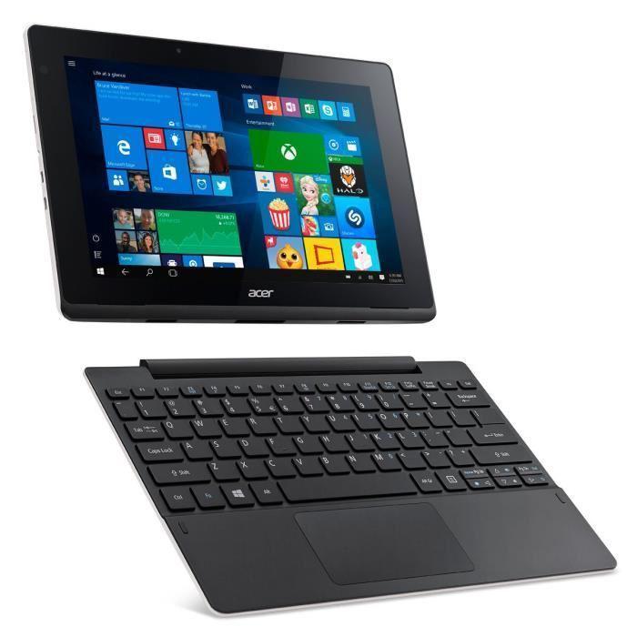 "Acer Aspire Switch - 10.1"" 64 Go - Wifi - Noir et Blanc"