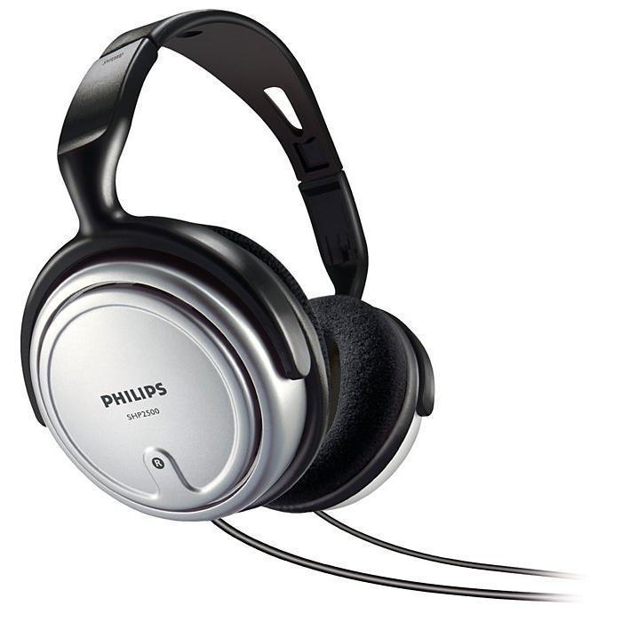 Casque Philips SHP2500/10 - Noir