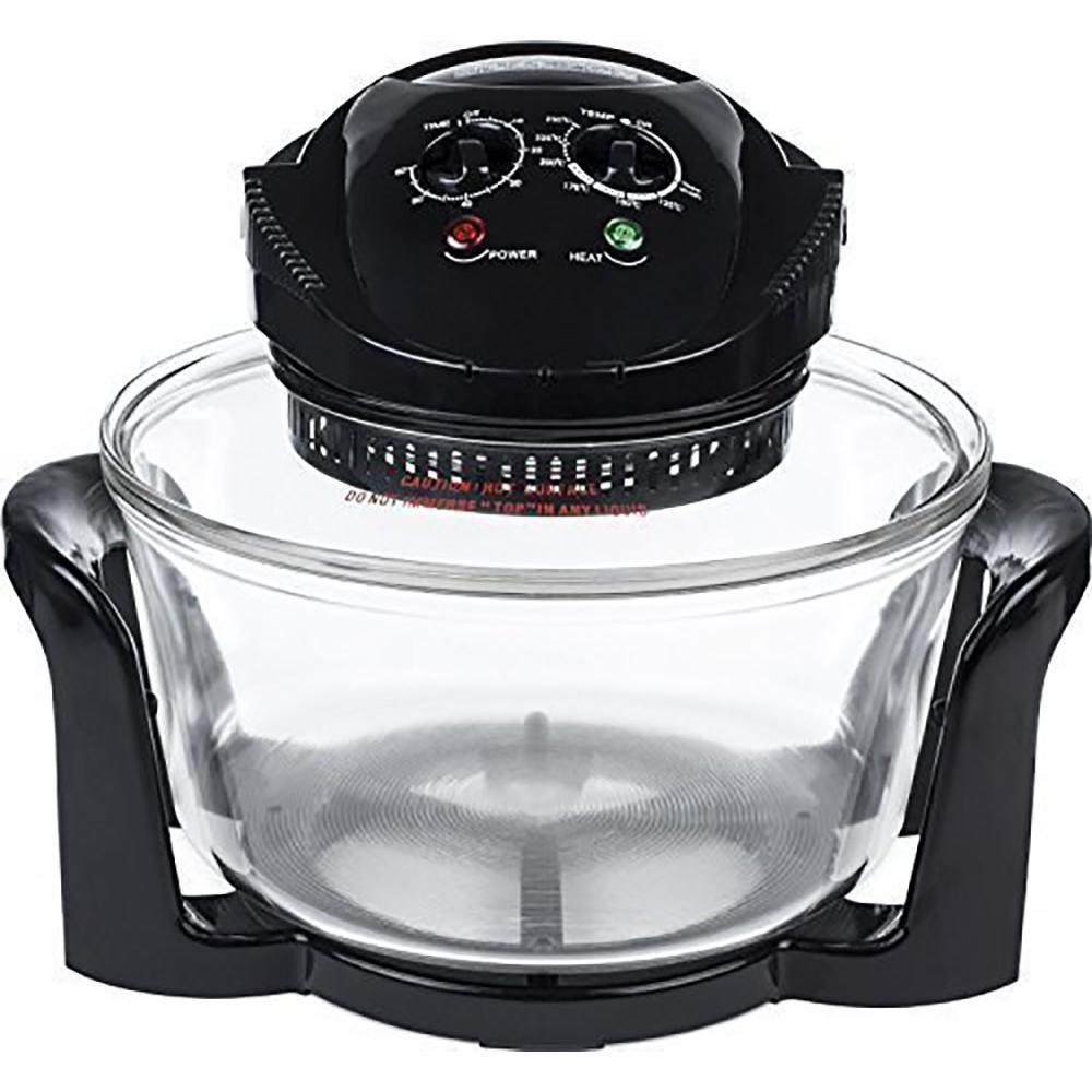 Andrew James - AJ606GDBK - Four halogène premium de 12 Litres noir