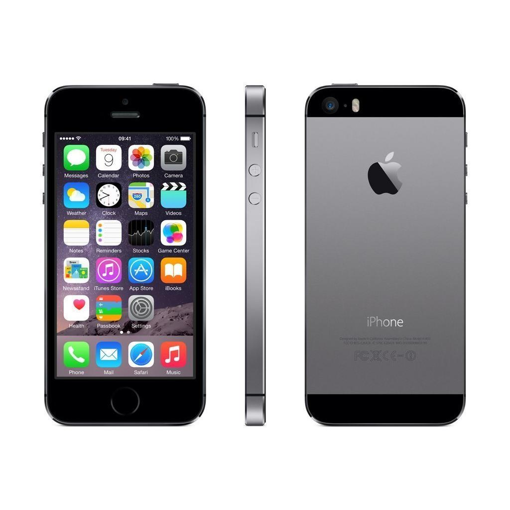 iphone 5s 16 gb gris espacial libre reacondicionado back market. Black Bedroom Furniture Sets. Home Design Ideas