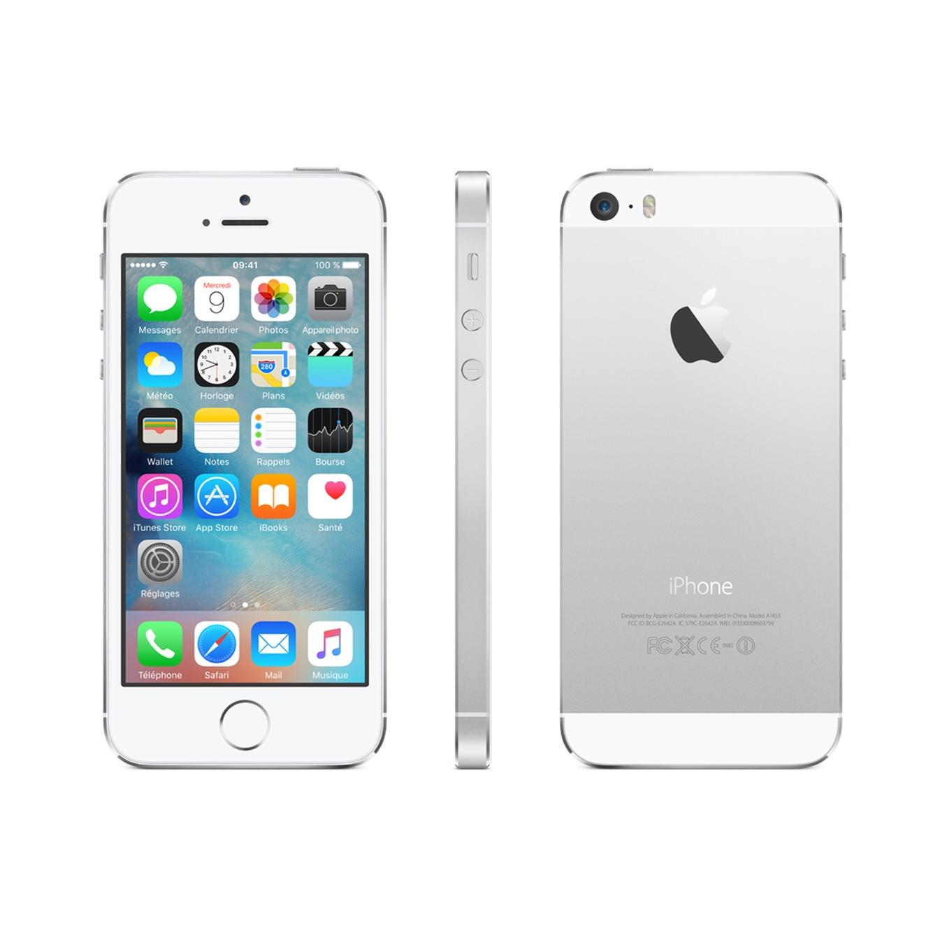 iPhone 5S 64 Gb - Plata - Libre
