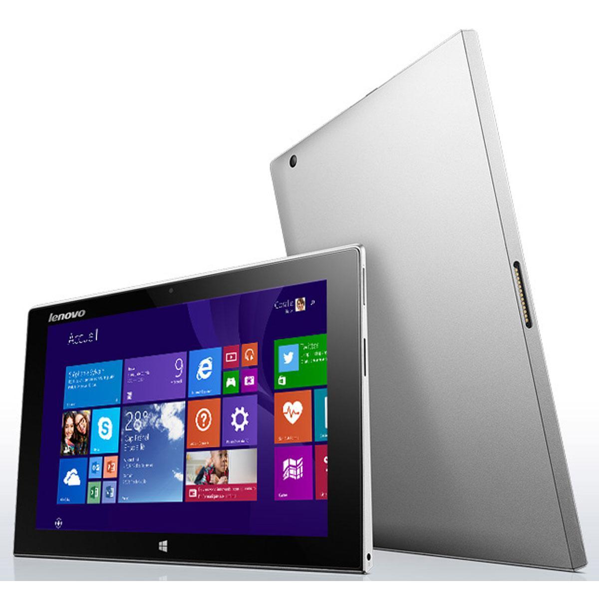 "Lenovo Miix 2 10 10,1"" Atom Z3745 1,33 GHz  - HDD 64 Go - RAM 2 Go"