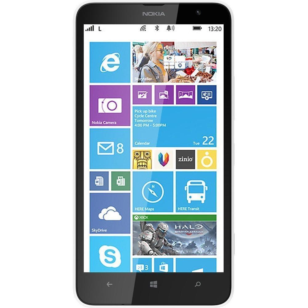 Nokia Lumia 1320 8 GB - Weiß - Ohne Vertrag