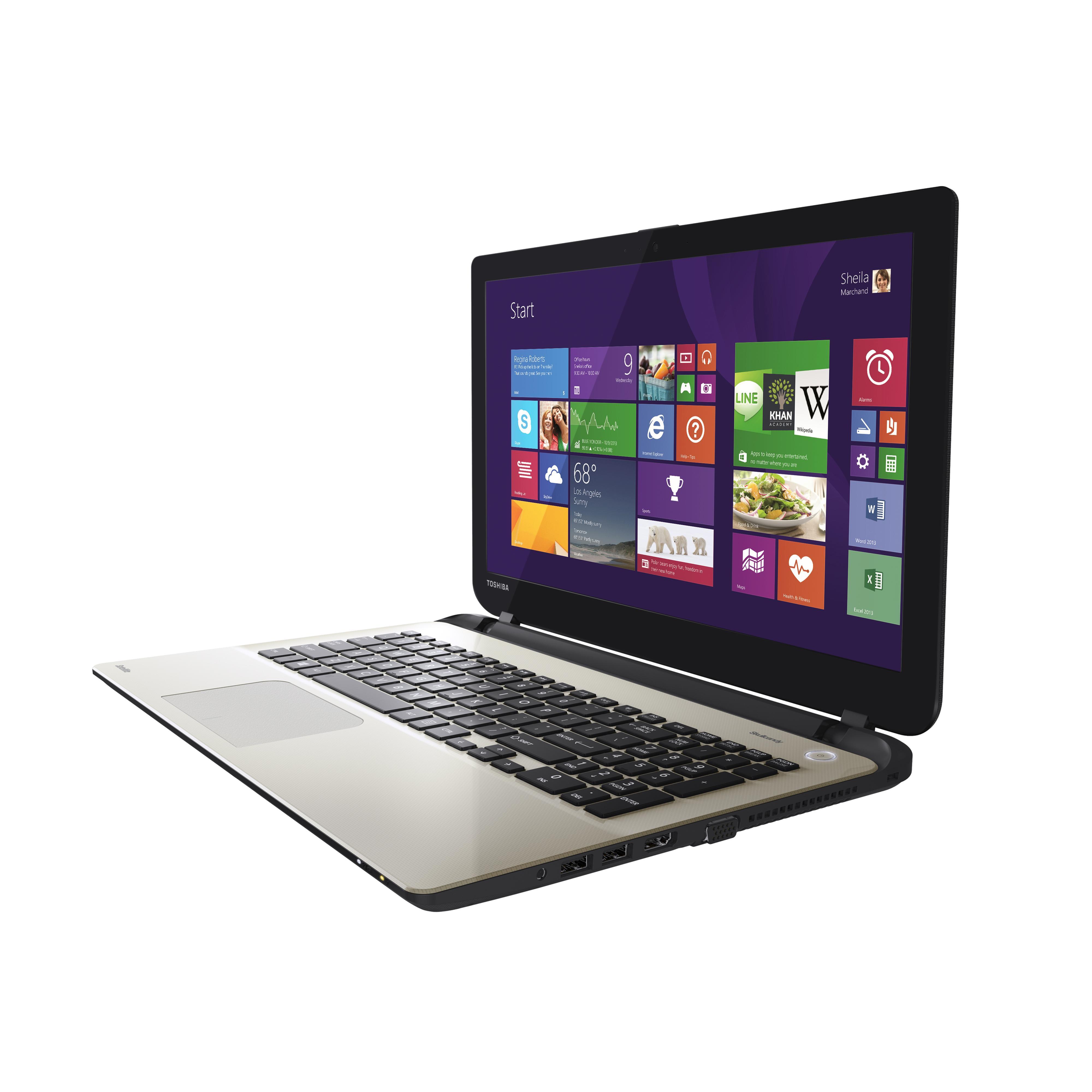 """Toshiba PSKULE-084007BT 15.6"""" 2 GHz HDD 100 Go RAM 12 Go"""