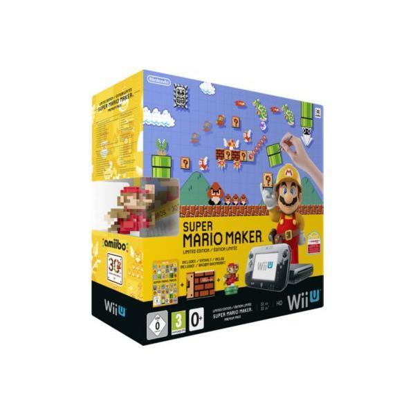 Console NINTENDO Wii U Pack Premium 32 Go - Jeu inclus Super Mario Maker