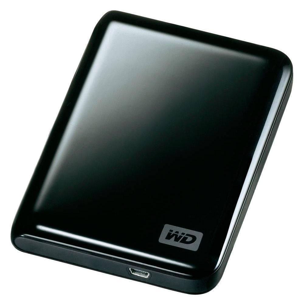 Disque dur externe Western Digital 2,5'' portable 250 Go