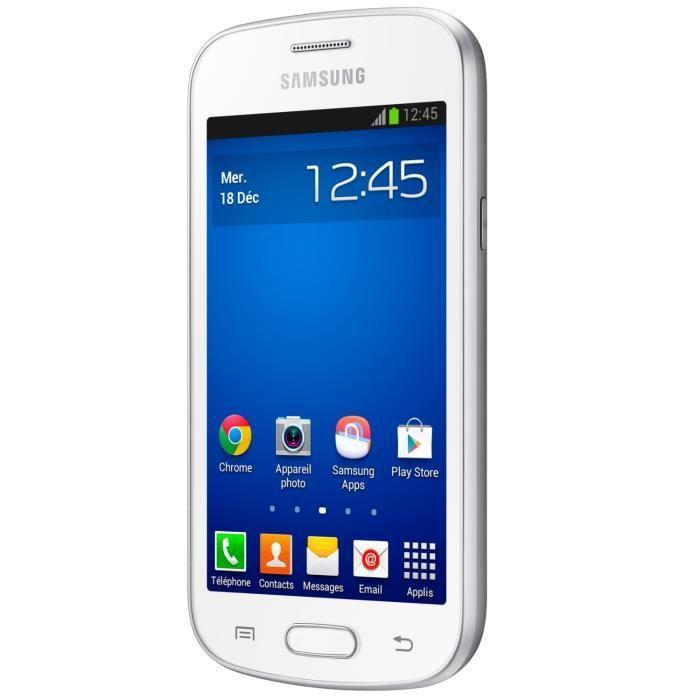 Samsung GT-S7390 trend lite 4 Go Blanc Débloqué