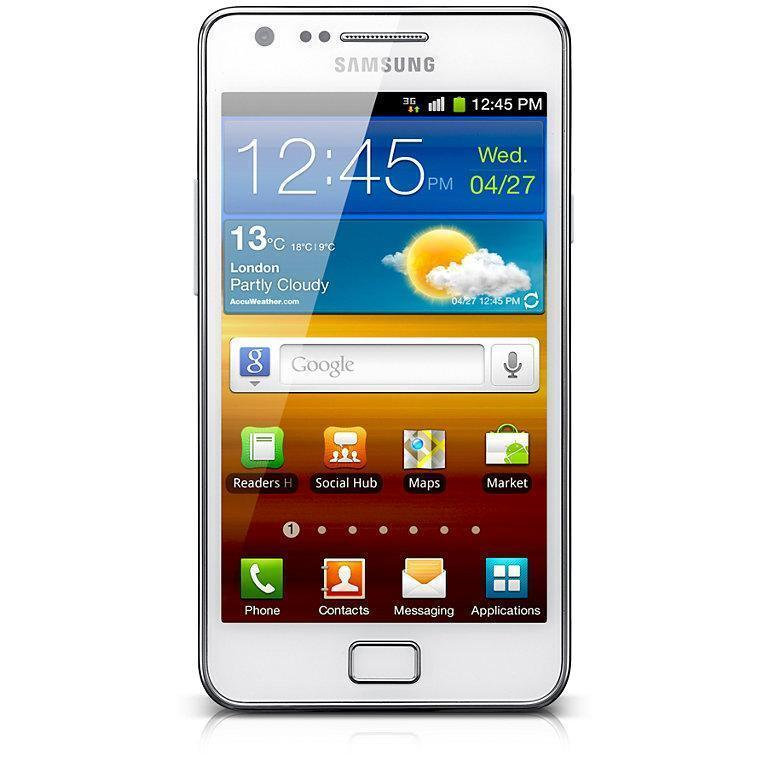 Samsung Galaxy S2 16 Go i9100 - Blanc - Débloqué
