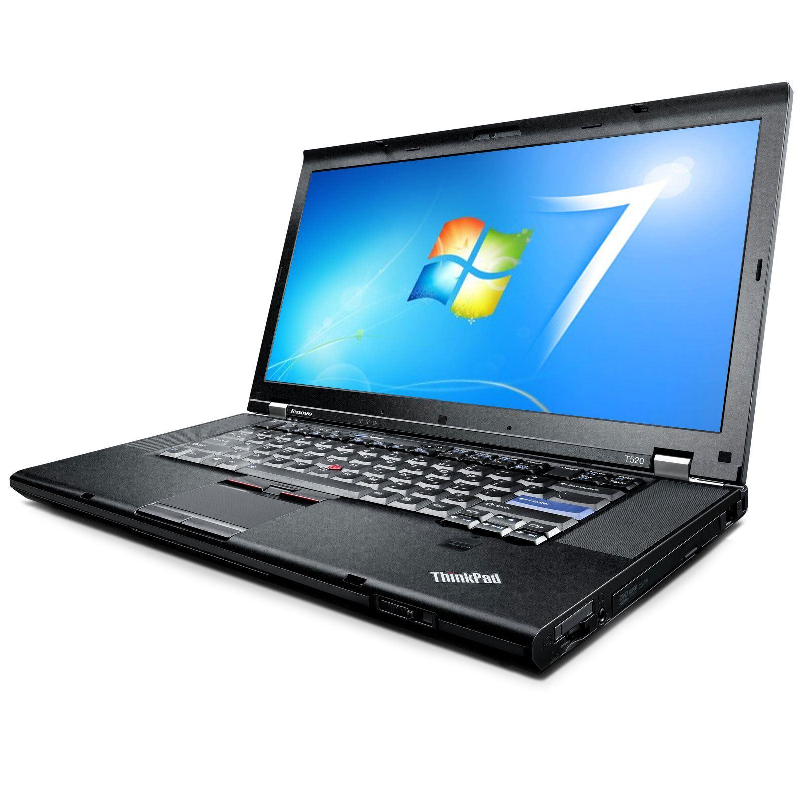 "Lenovo ThinkPad T520 15.6"" i52.5 GHz HDD 500 Go RAM 4 Go"