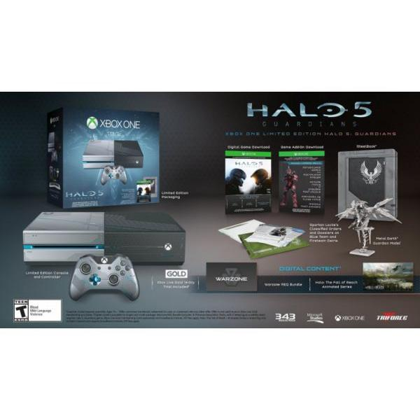 Console MICROSOFT Xbox One 1 To Edition Limitée Halo 5 - Sans jeu