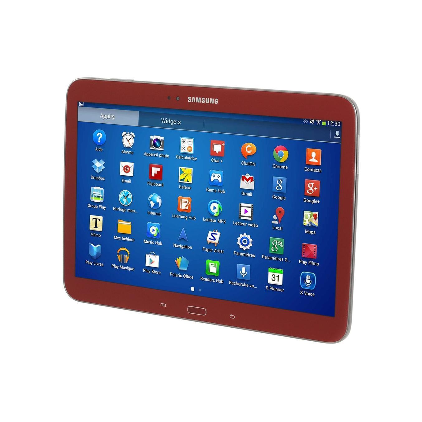 "Samsung Samsung Galaxy Tab 3 GT-5210ZWAXEF - 10,5"" 16 Go - Wifi - Rouge"