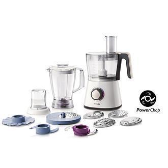Robot de cuisine Philips HR7761/00 750W - 11 accessoires