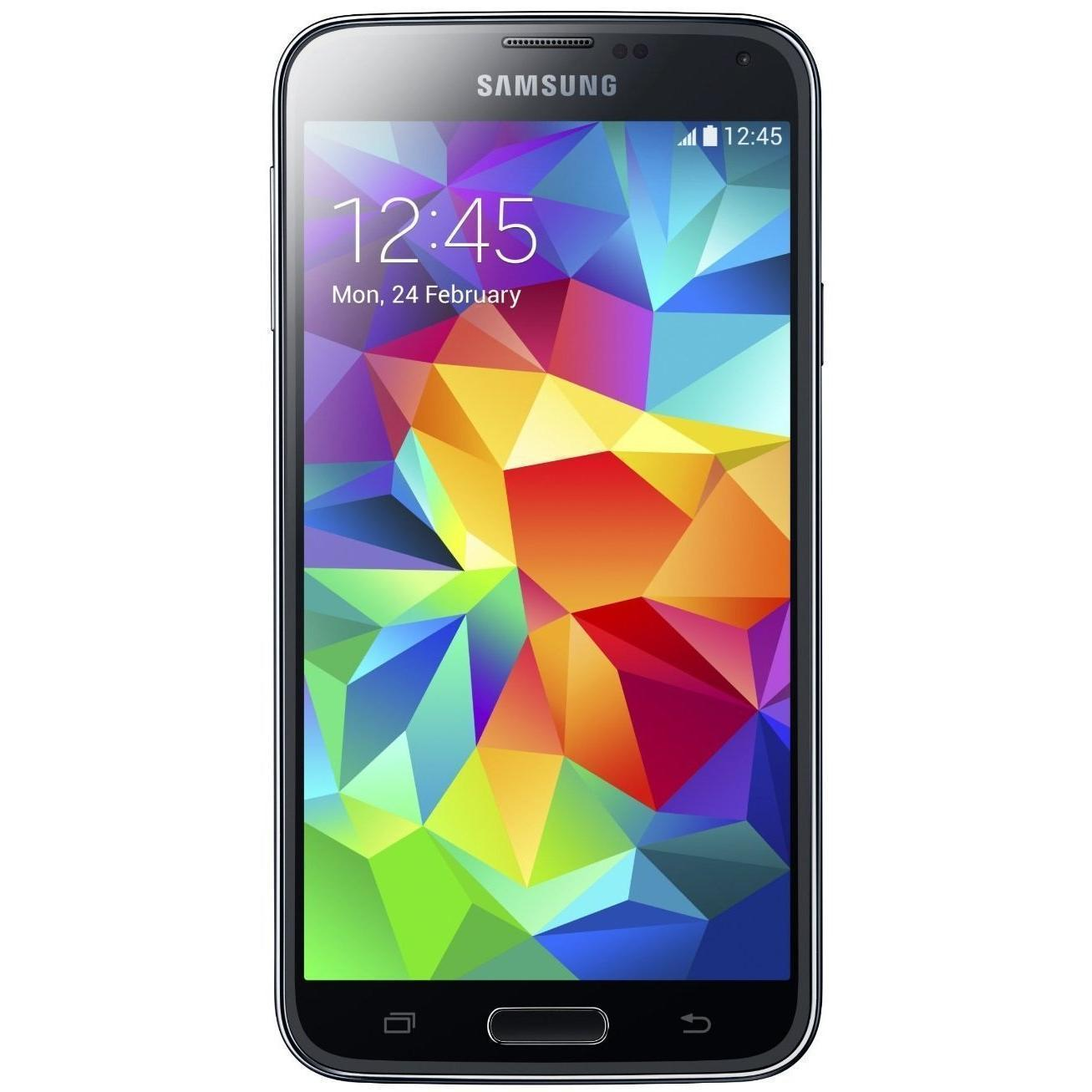 Samsung Galaxy S5 16 GB G900F 4G - Schwarz - Orange