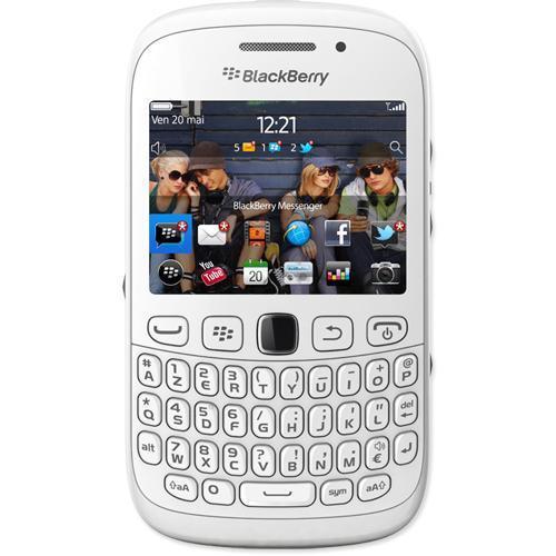Blackberry 9300 Curve - Blanc - Débloqué