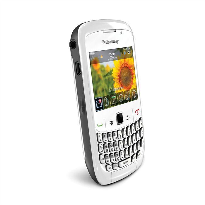BlackBerry Curve 8520 - Blanc - Débloqué