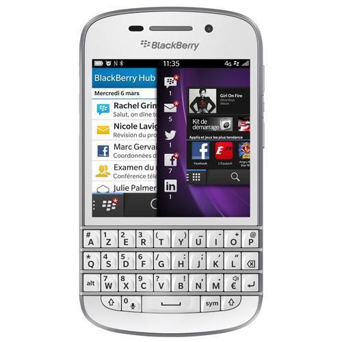 Blackberry Q10 16 GB Weiß - Ohne Vertrag