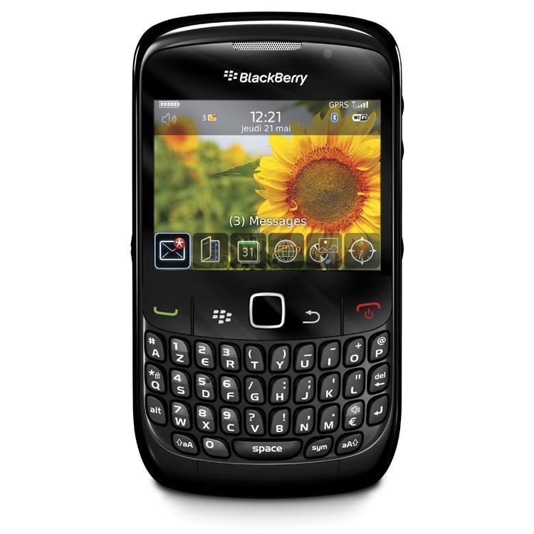 Blackberry Curve 8520 - Noir - Débloqué