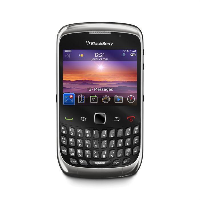 Blackberry 9300 Curve - Schwarz - Ohne Vertrag