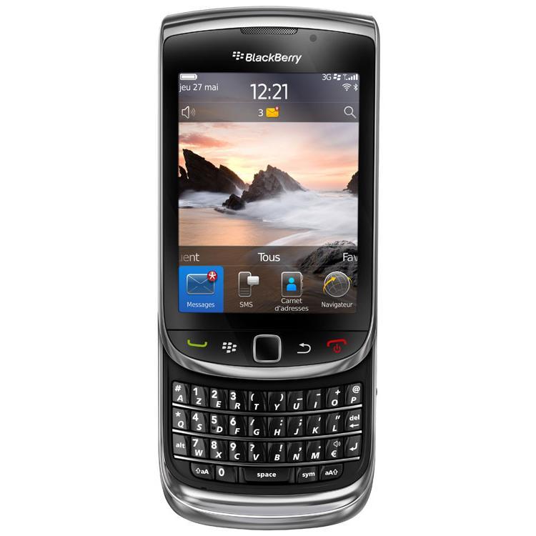 Blackberry Torch 9800 - Noir - Débloqué