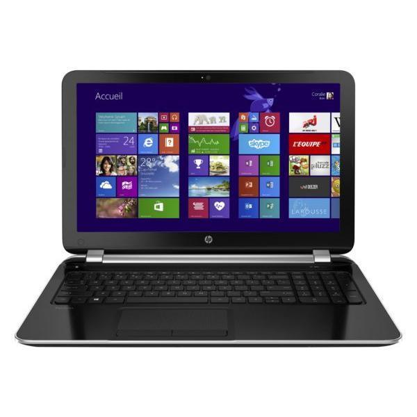 Hp Pavilion 15-n063sf -  1,6 GHz - HDD Disque dur 750  Go - RAM 4 Go - AZERTY