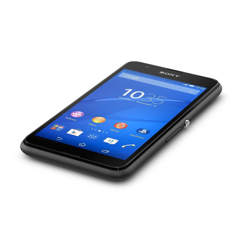 Sony Xperia E 4G Dual 8 Go - Noir - Débloqué