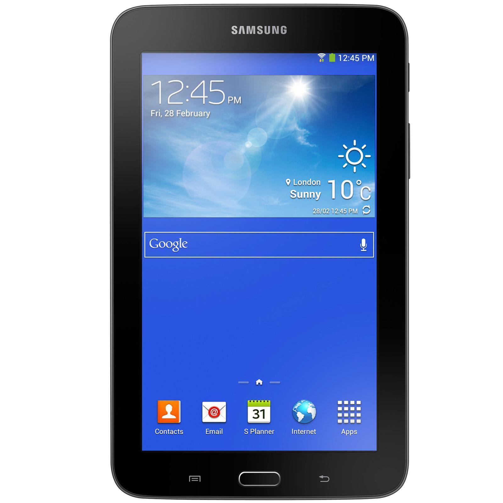 "Samsung Galaxy Tab 3 Lite Value Edition 7"" 8 Go 3G - Noir"