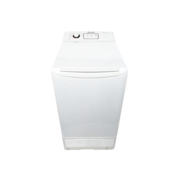 Sèche-linge à condensation top BRANDT - ETE6716F - 6kg