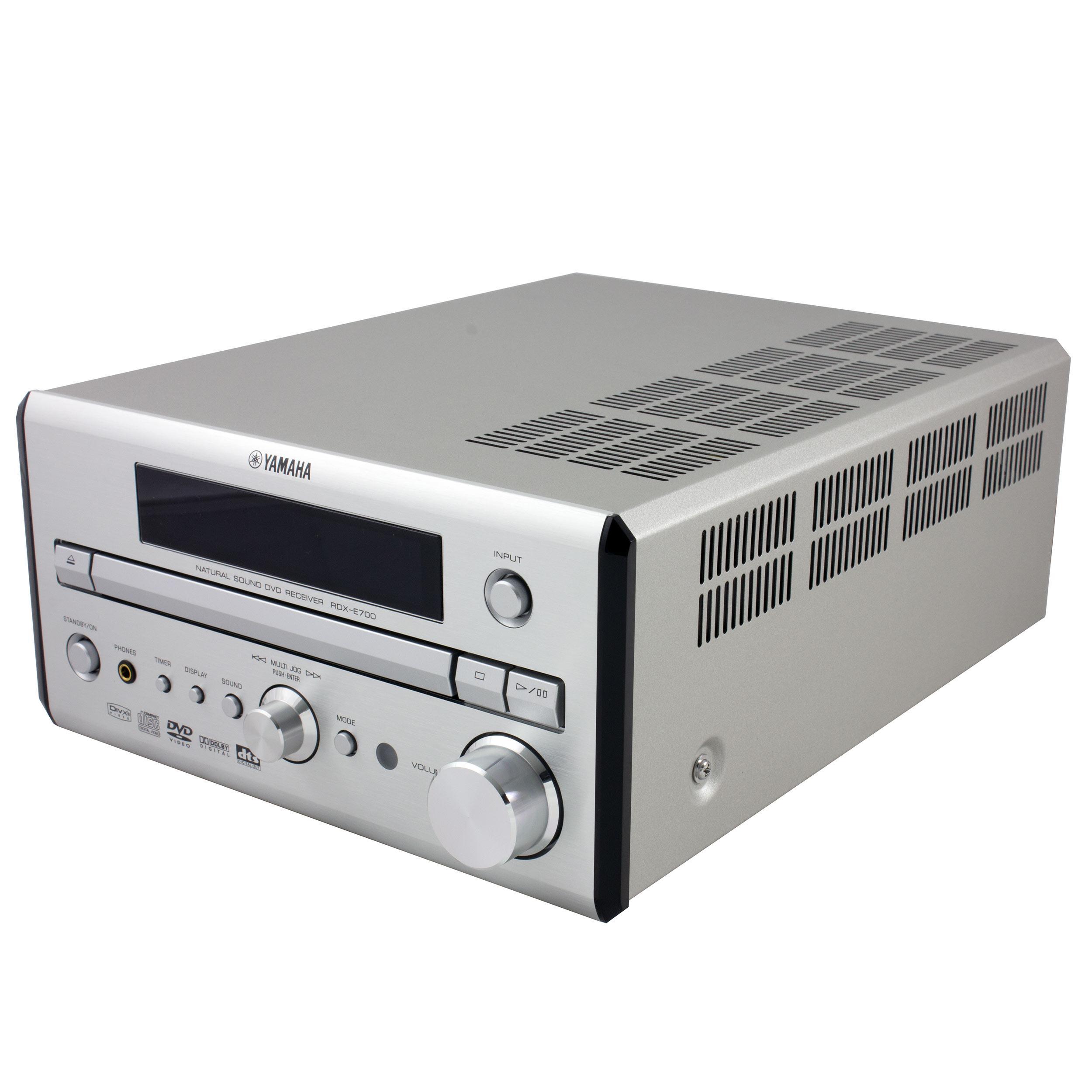 Yamaha - Amplificateur stéréo/lecteur DVD compatible DivX/Tuner