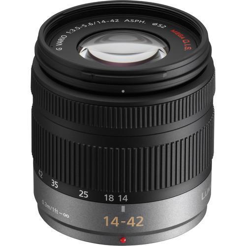 Panasonic Lumix G Vario - Objectif interchangeable 14-42mm F3.5-5.6 ASPH Méga S.O.I