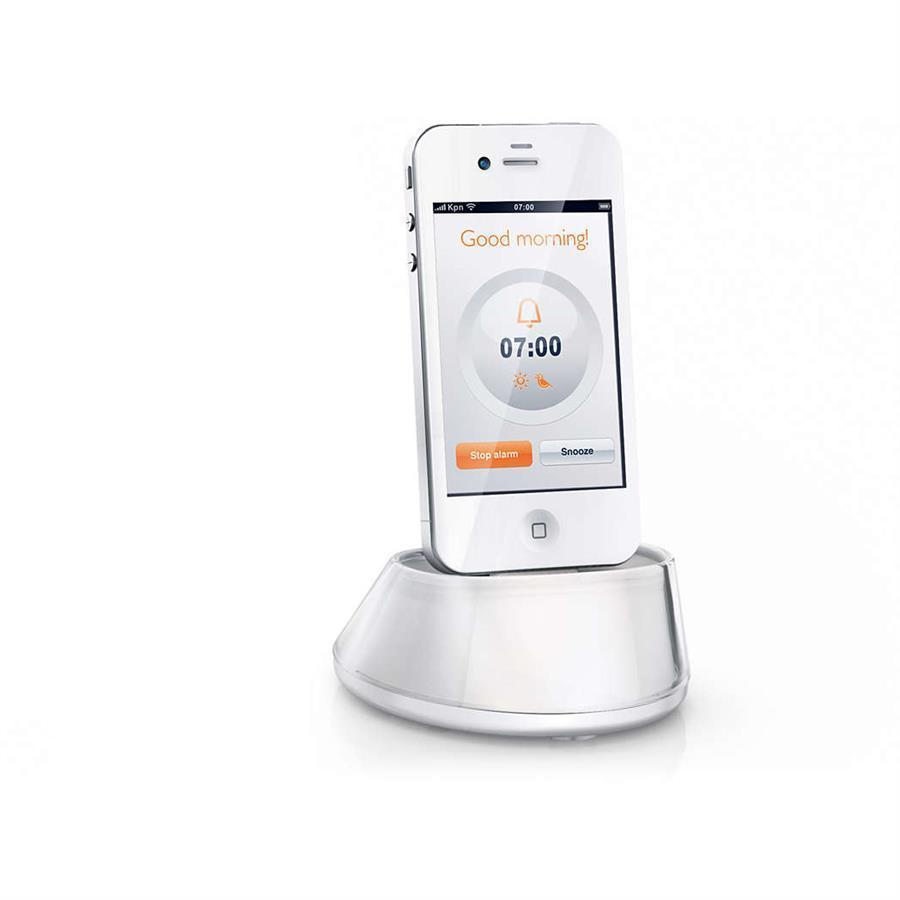 Radio - Radio Réveil Philips Eveil Lumière HF3550/01 - 100 % Piloté, contrôlé par iPhone