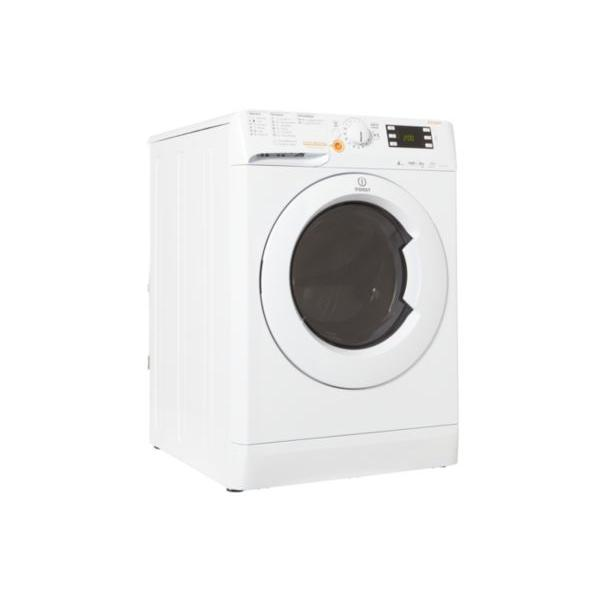 Lave-linge séchant frontal - INDESIT - XWDE 861480X W 6/8kg