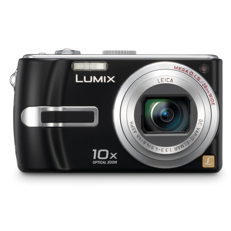Panasonic - Lumix DMC-TZ3 - 7,2 Mpix - Noir