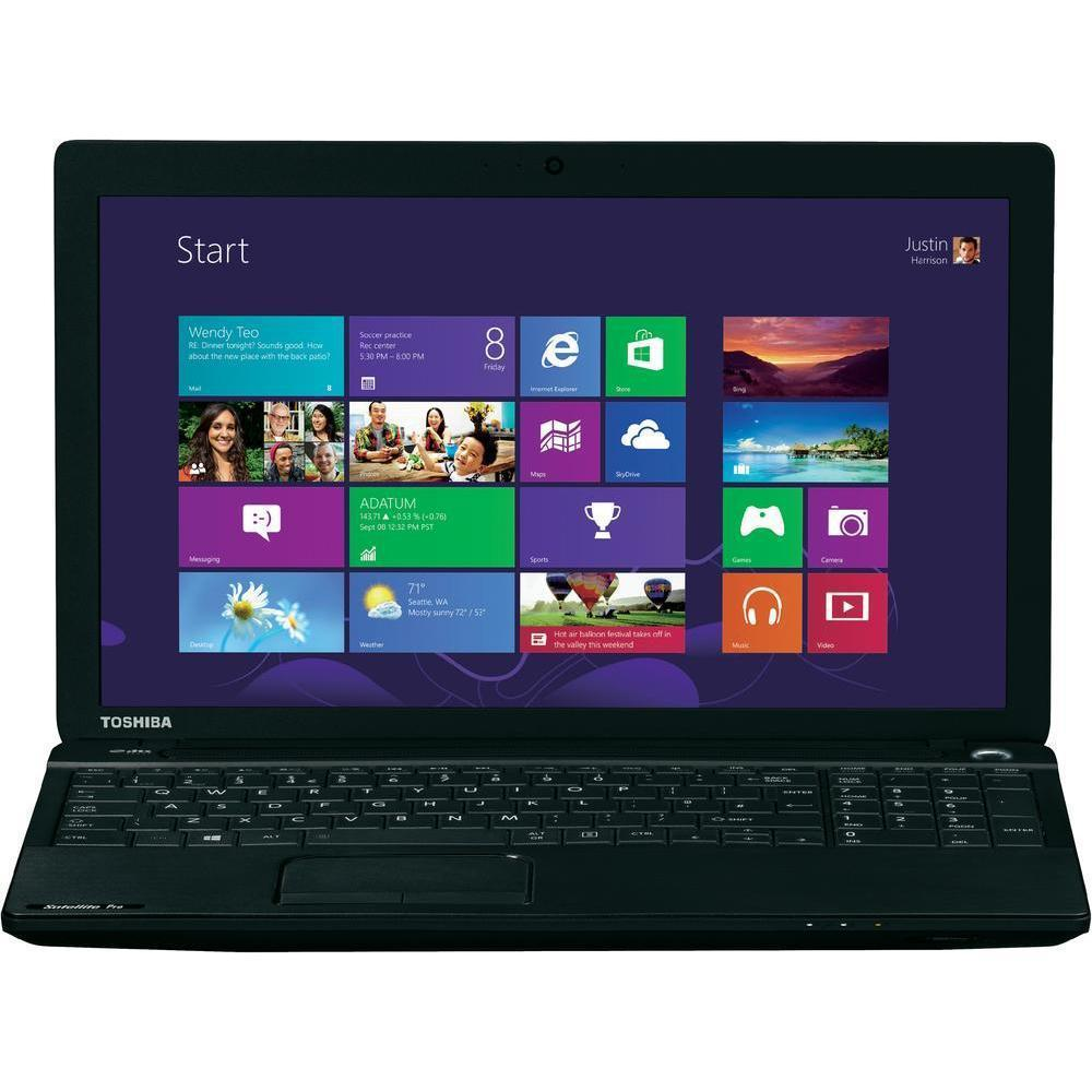 Toshiba Satellite C50D-A-120 -  1.5 GHz - HDD 1000 Go - RAM 4 Go - AZERTY