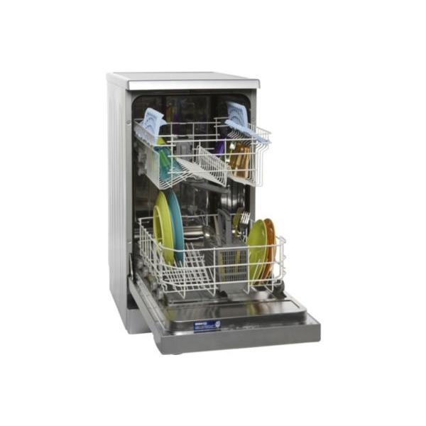 Lave Vaisselle 45cm BEKO DFS2536S Silver.