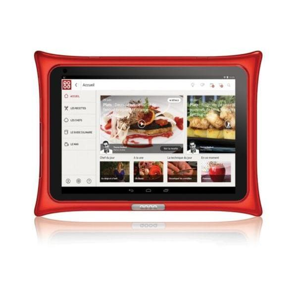 "Qooq Tablette Android - ""  -  - Rouge"