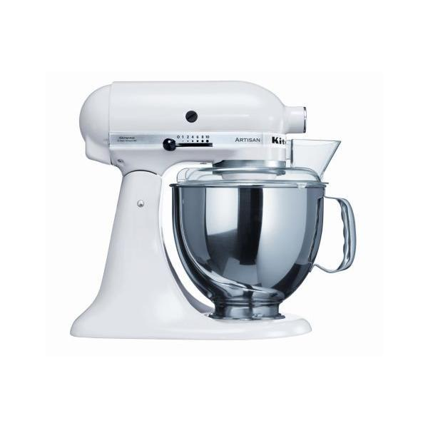 Robot sur socle -KitchenAid - 5KSM150PS EWH - Blanc
