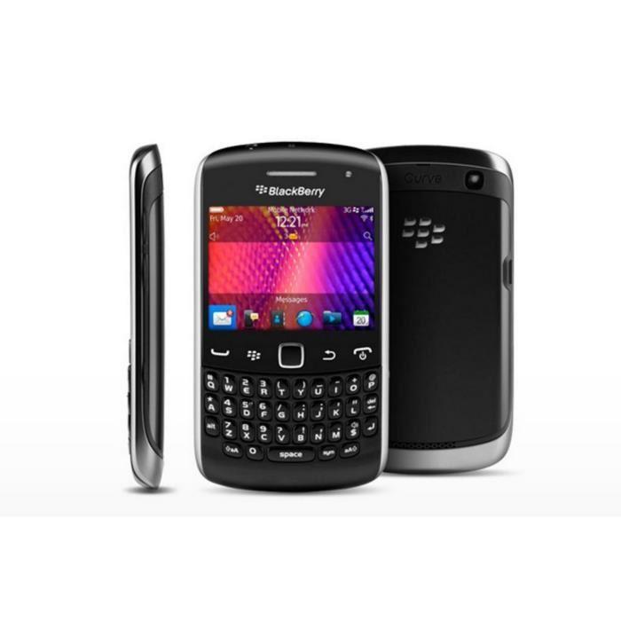 Blackberry Curve 9360 - Noir - Débloqué - QWERTY