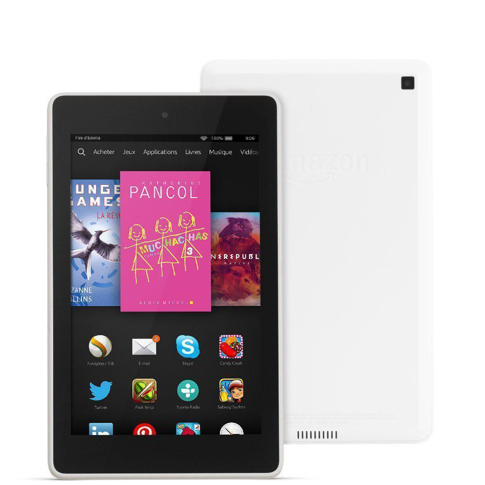 "Amazon Fire HD 6 - 6"" 8 Go -  - Blanc"