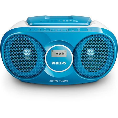 Poste radio CD Bleu Philips AZ25N/12