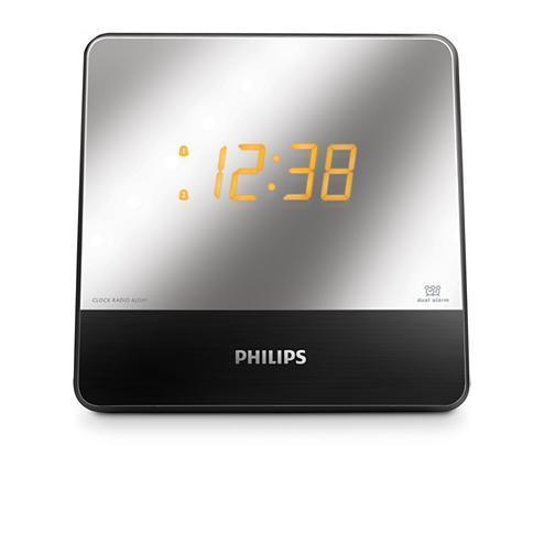 Radio réveil - Philips - AJ3241/12 finition miroir