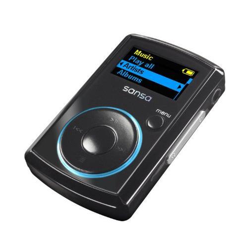 Sandisk - Sansa Clip - Lecteur MP3 - Radio FM - 8 Go - Noir