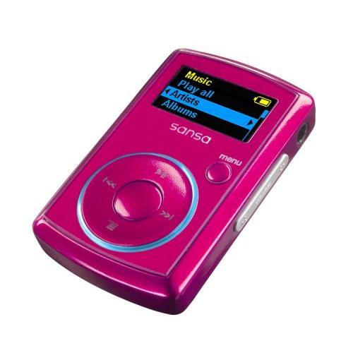 Sandisk - Sansa Clip - Lecteur MP3 - Radio FM - 2 Go - Rose