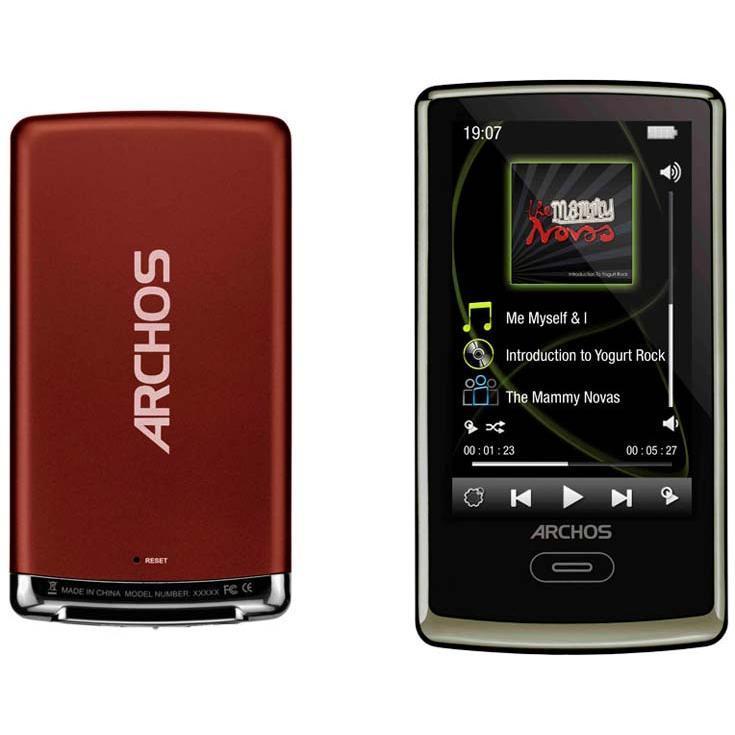 Archos 3 Vision - Lecteur MP3/MP4/Transmetteur FM - 8Go