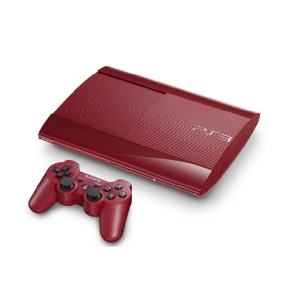 SONY PS3 - 500 Go - Rouge