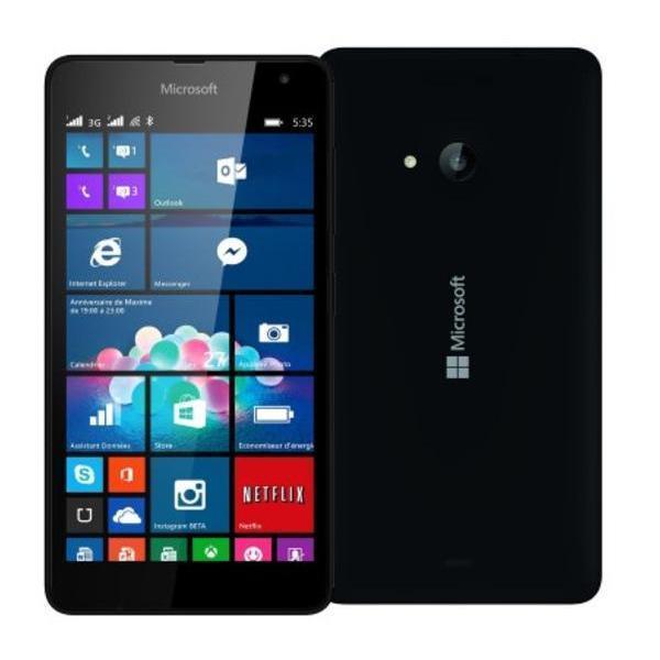 Microsoft Lumia 535 - Schwarz - Ohne Vertrag